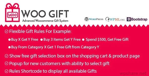 Woo Gift : Advanced Woocommerce Gift Plugin 5.6