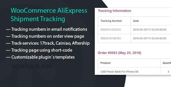 WooCommerce AliExpress Shipment Tracking 1.1.3