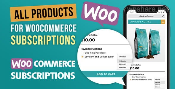 WooCommerce – All Products for WooCommerce Subscriptions v3.1.23