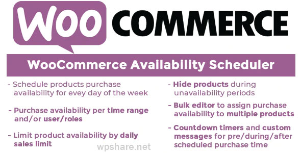 WooCommerce Availability Scheduler v10.8