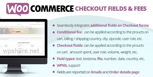 WooCommerce Checkout Fields & Fees v9.1