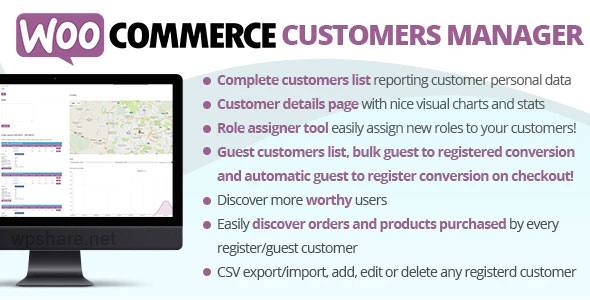 WooCommerce Customers Manager v26.7