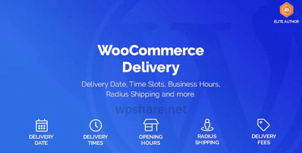WooCommerce Delivery —Delivery Date & Time Slots v1.1.17