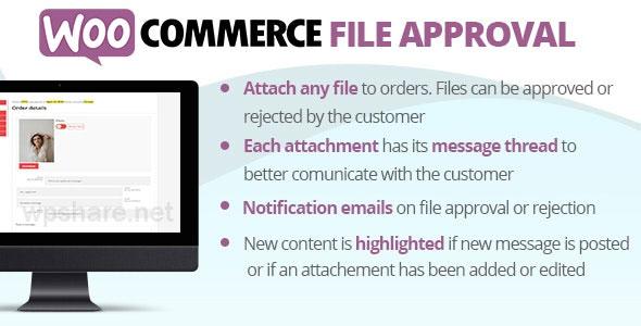 WooCommerce File Approval v5.3