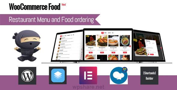 WooCommerce Food 2.5 – Restaurant Menu & Food Ordering