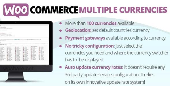 WooCommerce Multiple Currencies v5.3