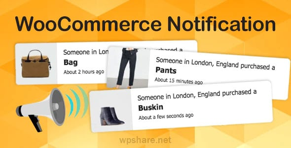 WooCommerce Notification 14.2.2. – Boost Your Sales – Live Feed Sales – Recent Sales Popup – Upsells