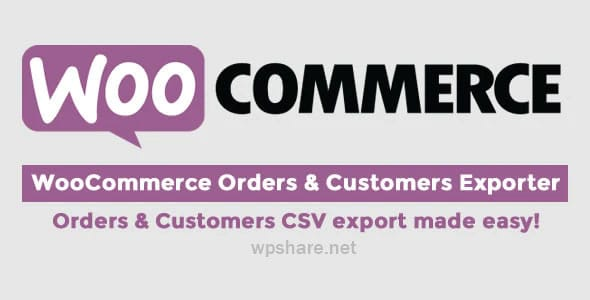 WooCommerce Orders & Customers Exporter v4.5