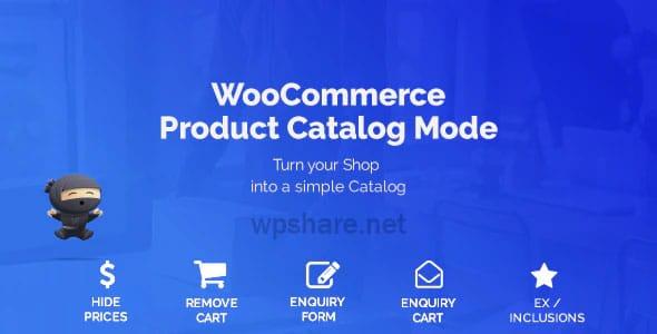 WooCommerce Product Catalog Mode 1.8.1 & Enquiry Form
