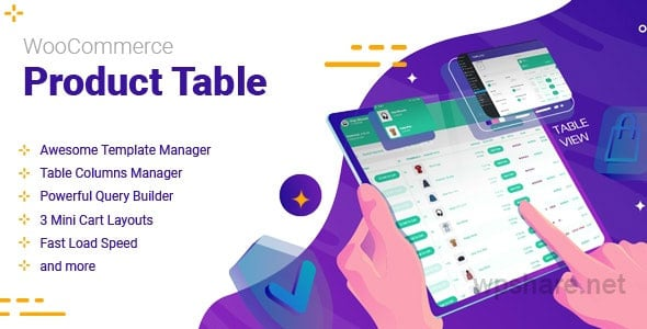 WooCommerce Product Table 2.1.0