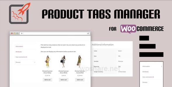 WooCommerce Product Tabs Manager v3.0.3