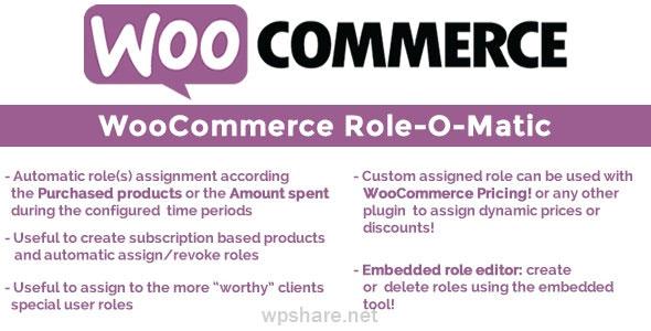WooCommerce Role-O-Matic 8.4