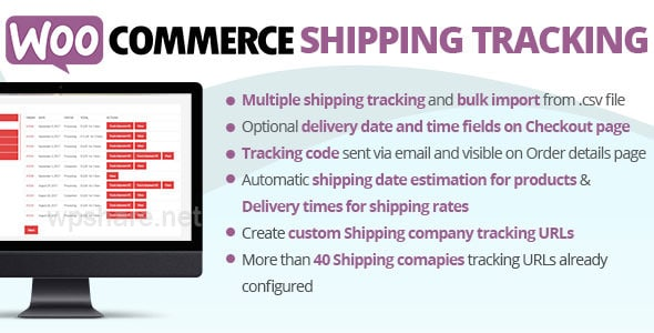 WooCommerce Shipping Tracking v27.6