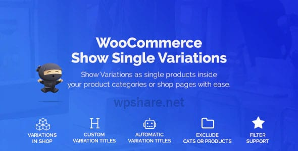 WooCommerce Show Variations as Single Products 1.3.8