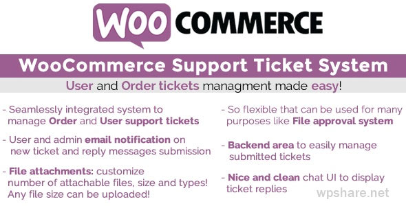 WooCommerce Support Ticket System 13.5