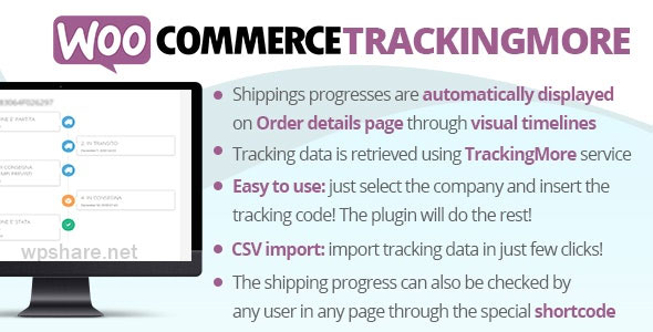 WooCommerce TrackingMore v4.1