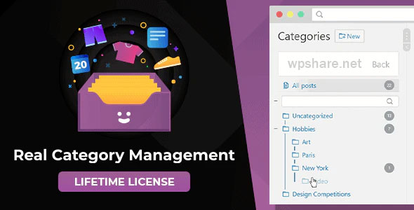 WordPress Real Category Management 3.4.5