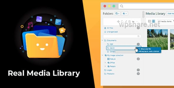 WordPress Real Media Library 4.12.0 – Folder & File Manager Plugin