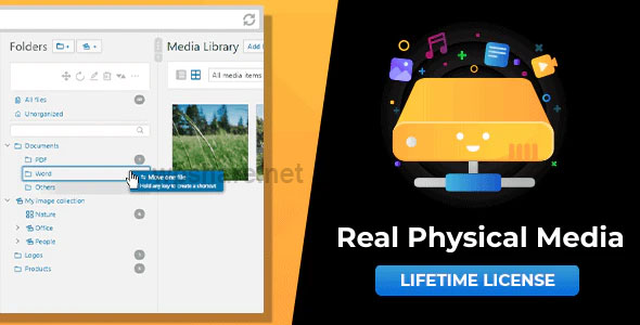 WordPress Real Physical Media 1.3.11 – Physical Media Folders & SEO Rewrites