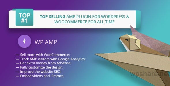 WP AMP 9.3.21 – Accelerated Mobile Pages for WordPress and WooCommerce