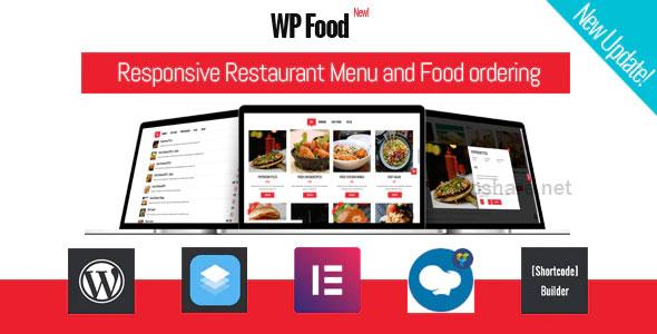 WP Food 2.5 – Restaurant Menu & Food ordering