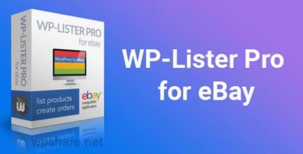 WP-Lister Pro for eBay v2.9.7