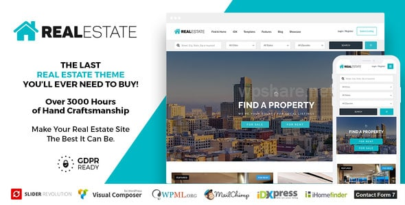 Real Estate 7 WordPress v3.0.5