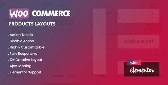 Yolo Products Layouts 1.0.0 – WooCommerce Addon for Elementor Page Builder