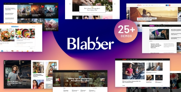 Blabber 1.7.0 – All-in-One Elementor Blog & News Magazine WordPress Theme + RTL