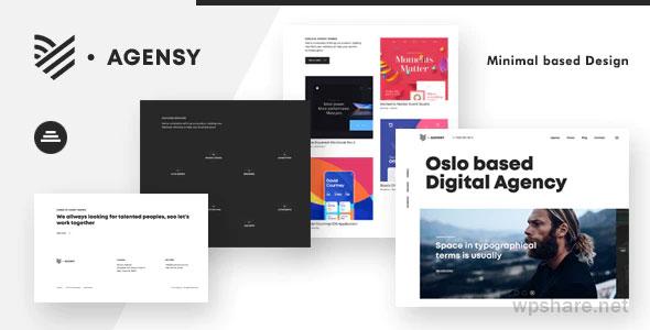 Agensy 1.0.0 – Digital Lab & Creative Solutions Theme