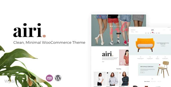 Airi 1.2.0 – Clean, Minimal WooCommerce Theme