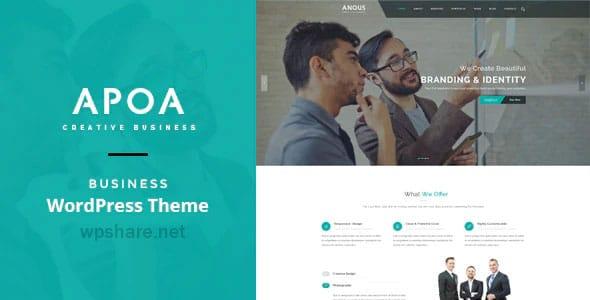 Apoa 1.3.2 – Business WordPress Theme