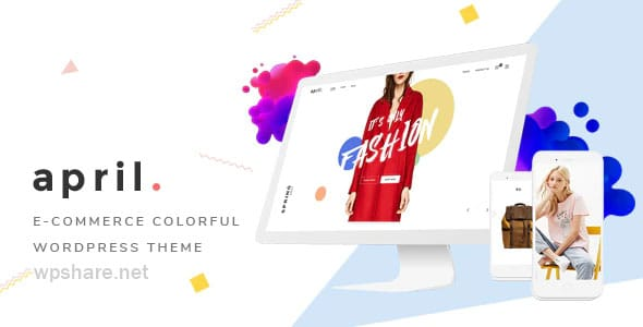 APRIL 4.8 – Fashion WooCommerce WordPress Theme