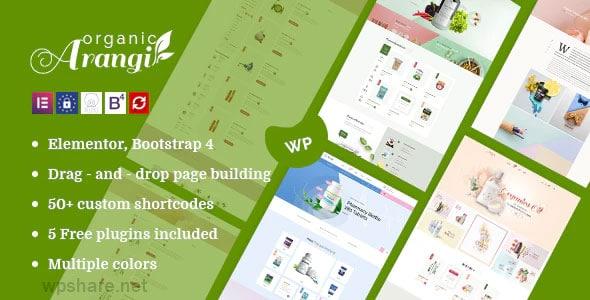 Arangi 1.3.8 – Organic WooCommerce WordPress Theme