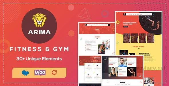 Arima 1.7 – Gym, Boxing WordPress Theme