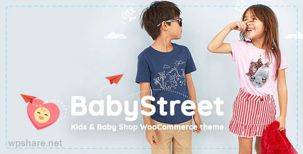 BabyStreet 1.5.2 – WooCommerce Theme for Kids Toys and Clothes Shops