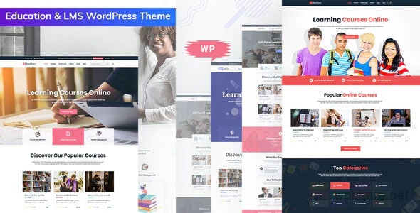 Bookflare 1.0.3 – A Modern Education & LMS WordPress Theme