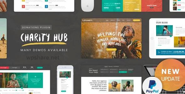 Charity Foundation 2.1 – Charity Hub WP Theme