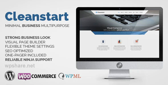 Cleanstart 2.0 – Corporate Business WordPress Theme