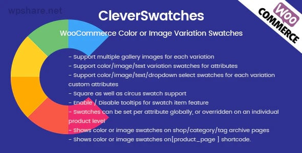 CleverSwatches 2.2.3 – WooCommerce Color or Image Variation Swatches