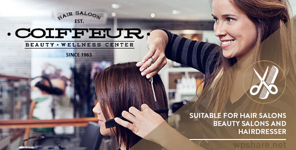 Coiffeur 5.6 – Hair Salon WordPress Theme