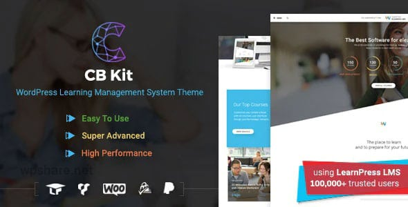 CBKit 3.2.4 – Course Builder & LMS WordPress Theme