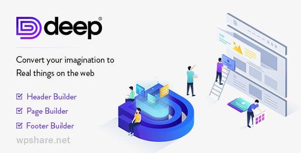 Deep 5.0.0 – Premium WordPress Theme