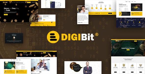 DigiBit 2.0 – Cryptocurrency Mining WordPress Theme