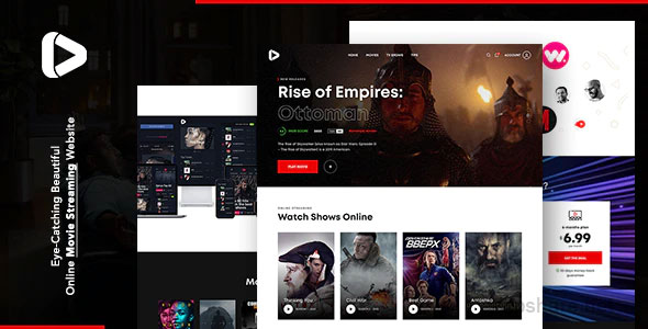 Digiflex 1.0.1 – Online Movie Streaming WordPress Theme