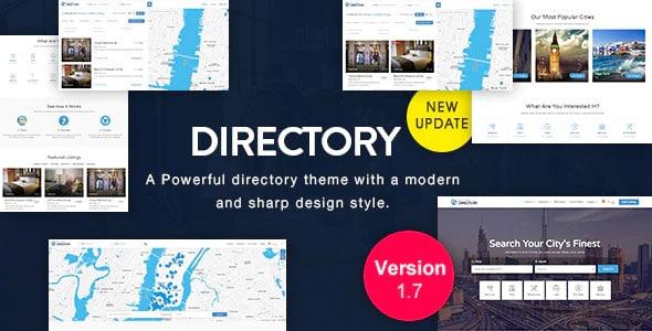 Directory 1.7 – Multi-purpose WordPress Theme