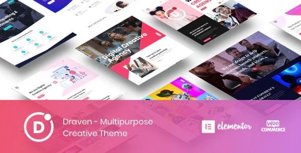 Draven 1.2.5 – Multipurpose Creative Theme
