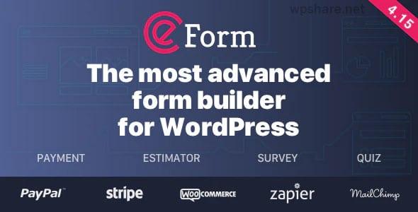 eForm 4.17.0 – WordPress Form Builder