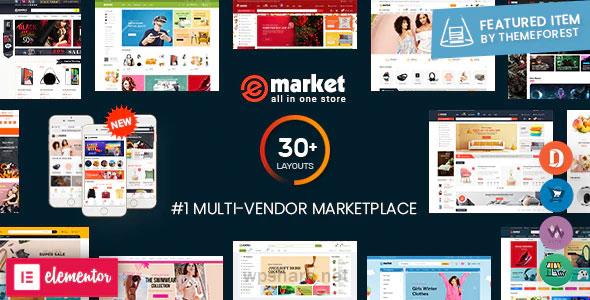 eMarket 4.6.0 – Multi Vendor MarketPlace WordPress Theme