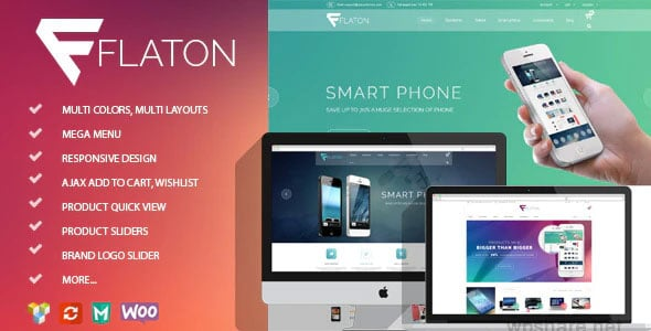 Flaton 1.6.4 – WooCommerce Responsive Digital Theme